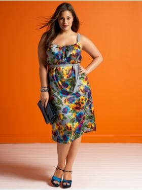Women's Plus Size Clothes: The Floral Satin Dress & Ankle-Strap Wedge: Evening Winter Collection | Old Navy :  floral women satin old navy