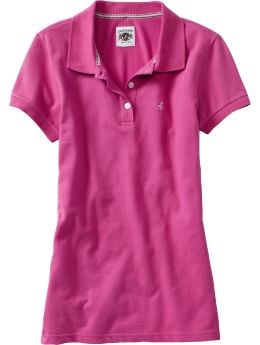 Old Navy Women's Stretch Pique Polos