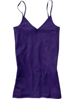 Women's Clothes: Women's Long Layering Camis: Tees & Tanks Bargains | Old Navy :  blue old navy tag free tagless