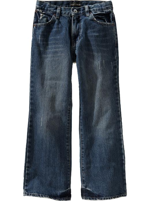 Old Navy Boys Boot Cut Jeans