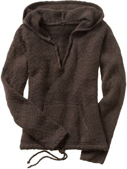 Oldnavy.com: Women: Sweaters:Women's Metallic Trim Hooded Sweaters from oldnavy.com