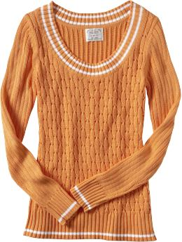 Women's Clothes: Women's Eyelet-Cable V-Neck Sweaters: Sweaters | Old Navy :  eyelet women sweaters old navy