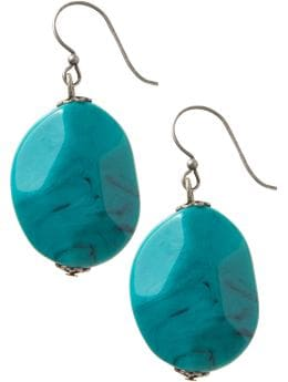 Oldnavy.com: Women's Chunky-Bead Drop Earrings :  drop jewelry stone earrings