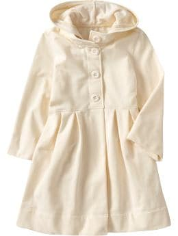 Oldnavy.com: Women: Women's Fleece Babydoll Coats: New Arrivals :  fleece hood babydoll drawstring