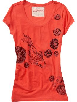 Oldnavy.com: Women: Women's Floral Graphic Tees: New Arrivals