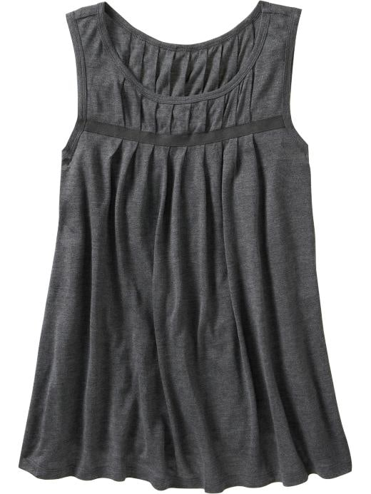 Oldnavy com Women Women s Pleated Trapeze Tops Tees Tanks Bargains from oldnavy.com
