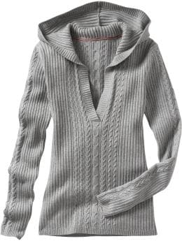 Oldnavy.com: Women: Women's Mini-Cable Hooded Sweaters: Hoodies