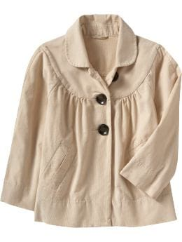 Cropped Trapeze Jackets New Arrivals from oldnavy.com