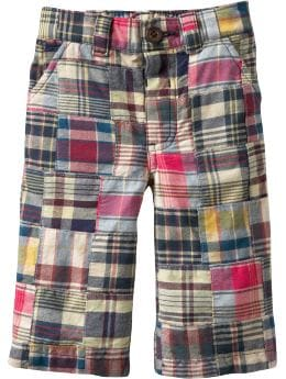 Baby Boys: Patchwork Pants for Baby: Little Gentleman | Old Navy