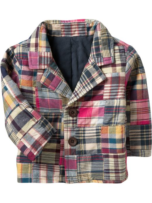 Baby Boys: Patchwork Blazers for Baby: Little Gentleman | Old Navy