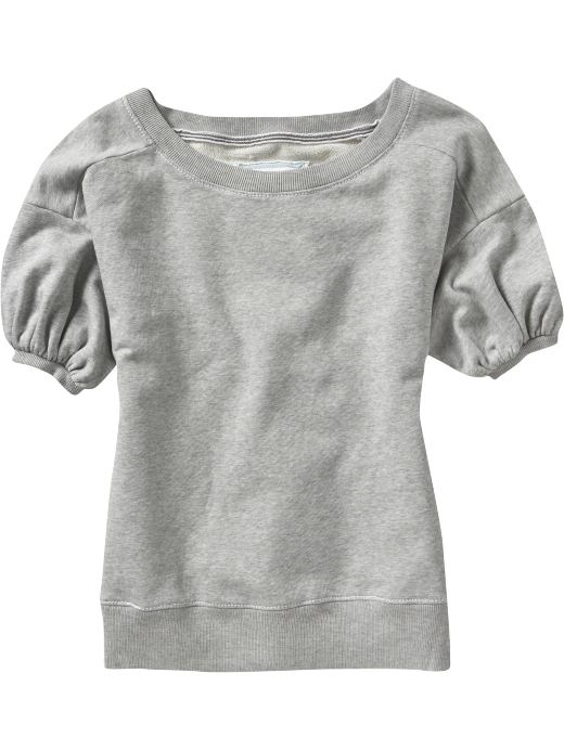 Women: Women's Scoop-Neck Puff-Sleeve Pullovers: Online-Only Styles | Old Navy