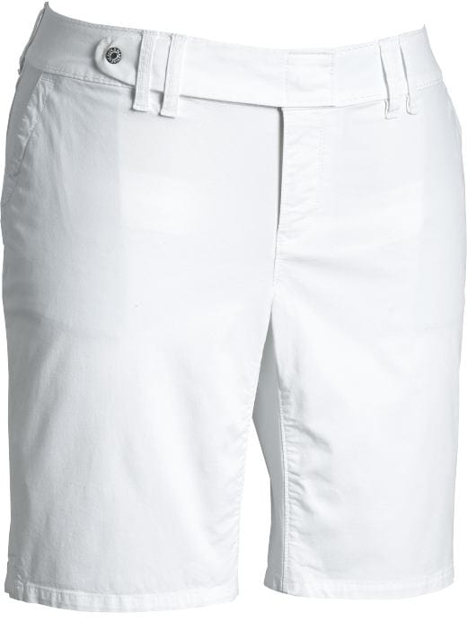 Women's Plus Size Clothes: Women's Plus Low-Rise Twill Bermudas (10