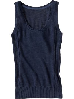 Women's Clothes: Women's Scoop-Neck Shells: Sweaters | Old Navy