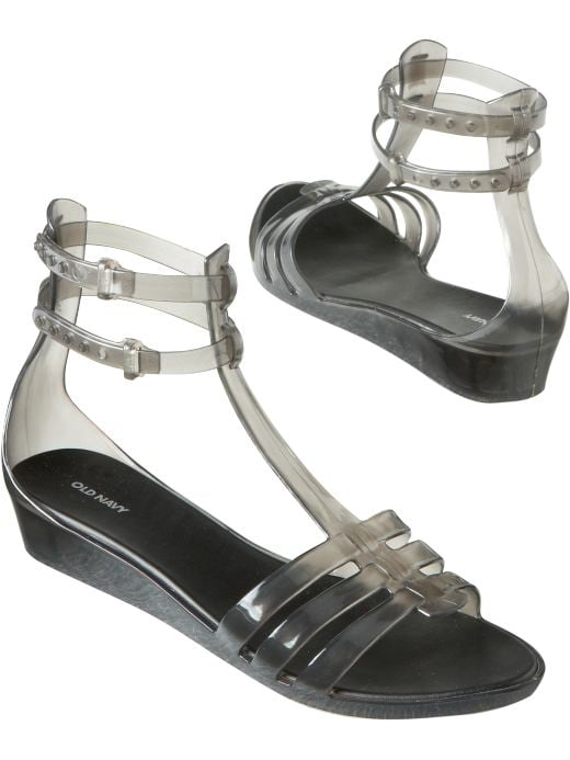 Shoes and Accessories: Women's Ankle-Strap Gladiator Jelly Sandals: Juicy Jellies | Old Navy :  gladiator old navy jellies shoes and accessories juicy jellies