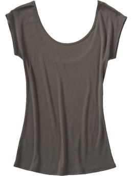 Women's Clothes: Women's Scoop-Back Tees: New Arrivals | Old Navy :  shirt