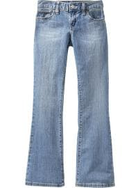 Girls Vintage Boot-Cut Jeans