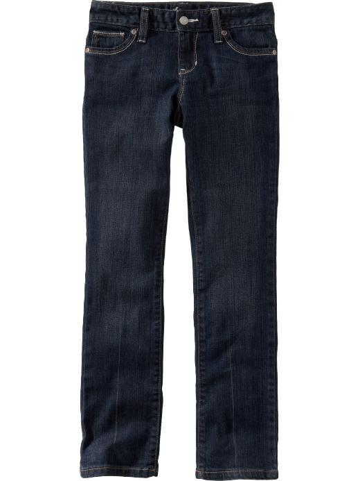 Old Navy Girls Dark Wash Skinny Jeans