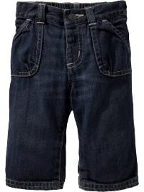Pintucked-Pocket Jeans for Baby