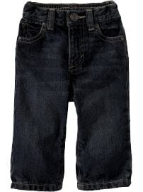 Regular Fit Dark-Wash Jeans for Baby
