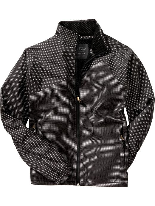 Men's Clothes: Men's Dotted Nylon Jackets: Outerwear | Old Navy