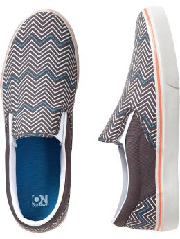 Men's Clothes: Men's Canvas Slip-Ons: Shoes Shoes & Flip-Flops | Old Navy :  mens shoes men slip-ons canvas