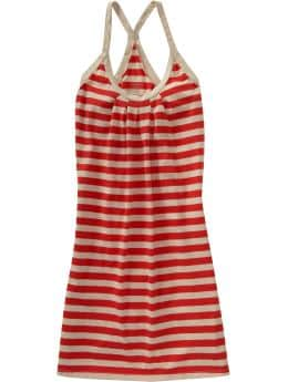 Women's Clothes: Women's Racerback Dresses: Stock-Up Sale | Old Navy :  striped dress dresses racerback