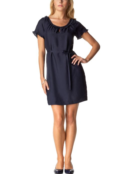 Women's Clothes: Women's Belted Silk Dresses: New Arrivals | Old Navy