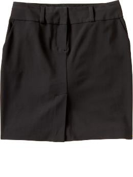 Women: Women's Essential Pencil Skirt - New Black