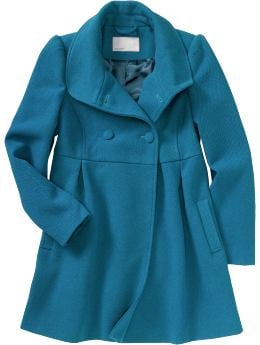 Women's Clothes: Women's Pique Wool-Blend Coats: New Arrivals | Old Navy