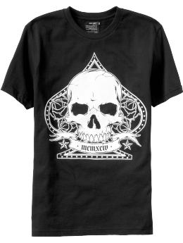Men's Clothes: Men's Skull & Spade Tees: Nightlife Tees Graphic Tees | Old Navy