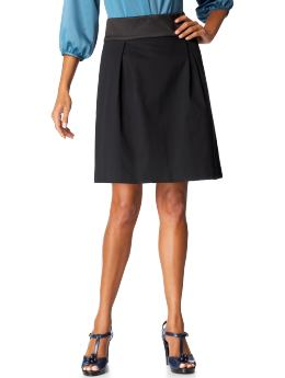 Not Just a Basic Black Skirt | WorkChic