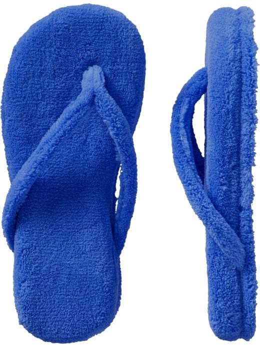 Old Navy Womens Terry Thong Slippers