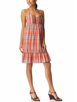 Women's Clothes: Women's Embroidered Madras Sundresses: Dresses | Old Navy :  blue white clothing warm colors