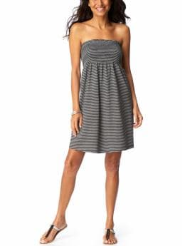 Women's Clothes: Women's Smocked Tube Dresses: $15 Deals $5, $10, $15 Deals | Old Navy :  striped white clothing womens