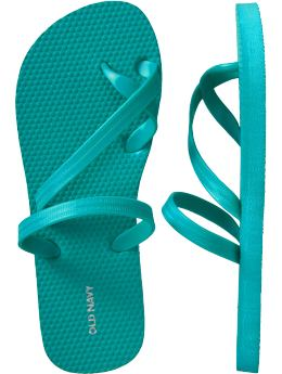 Women's Clothes: Women's Toe-Strap Flip-Flop Sandals: Flip-Flops Shoes & Slippers | Old Navy from oldnavy.gap.com