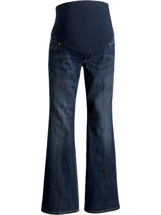 Old Navy Maternity Full Panel Flared Leg Jeans