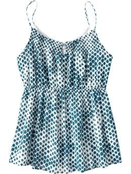 Women's Clothes: Women's Keyhole Gauze Babydolls: New Fall Collection | Old Navy