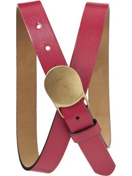 Womens Faux-Leather Fashion Belts at Old Navy ($10.00 USD)