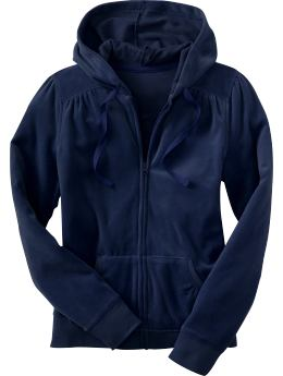 Women s Clothes Women s Velour Zip Hoodies Hoodies Old Navy from oldnavy.gap.com