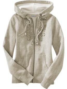 Women's Clothes: Women's Ruffled Hoodies: Hoodies | Old Navy