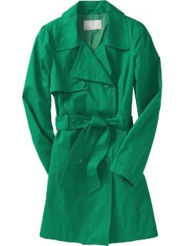 Women's Belted Trench Coat