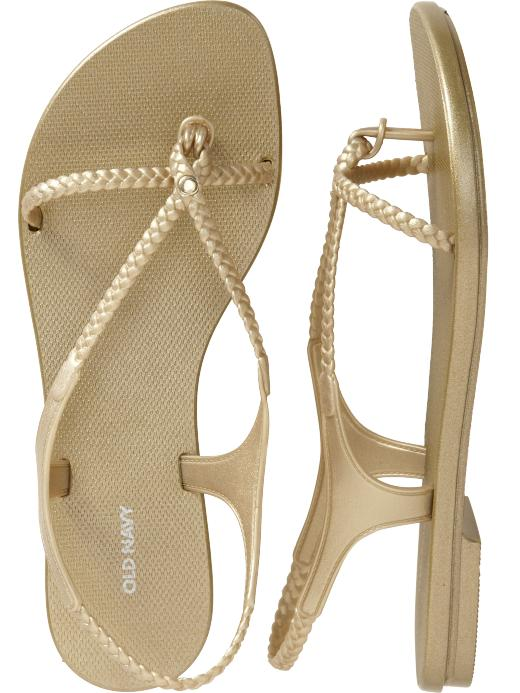 Women's Braided Slingback Sandals