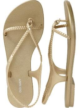 Old Navy - Women's Braided Slingback Sandals