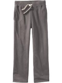 Men's Jersey-Fleece Sweatpants