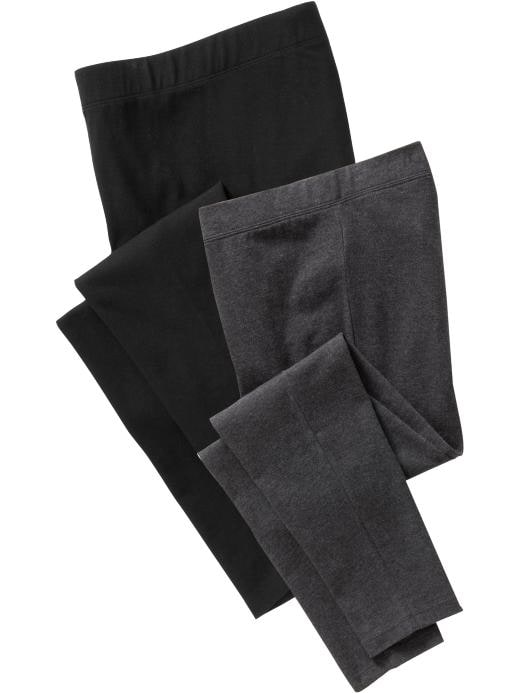 Old Navy Maternity Jersey Leggings 2 Pack
