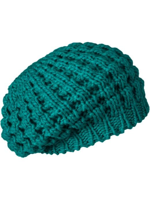 Old Navy Womens Popcorn-Knit Berets