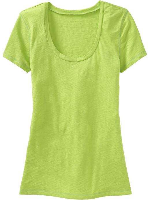 Old Navy Womens Scoop-Neck Tees