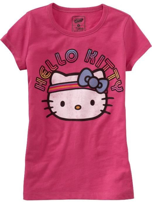 Old Navy Girls Hello Kitty Graphic Tees. $10.50. at Old Navy
