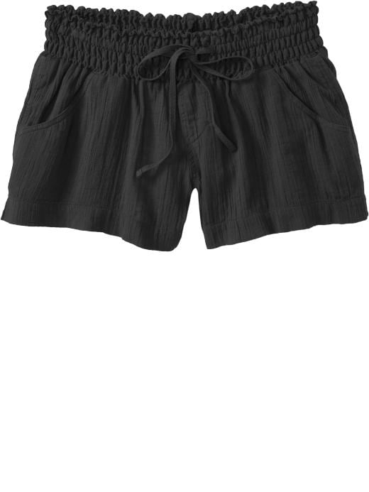 Old Navy Womens Gauze Cover-Up Shorts (3)