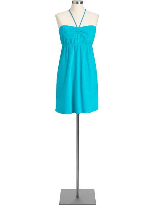 Women's Loop Terry Tube Dresses | Old Navy :  old navy empire waist sweetheart neckline womens